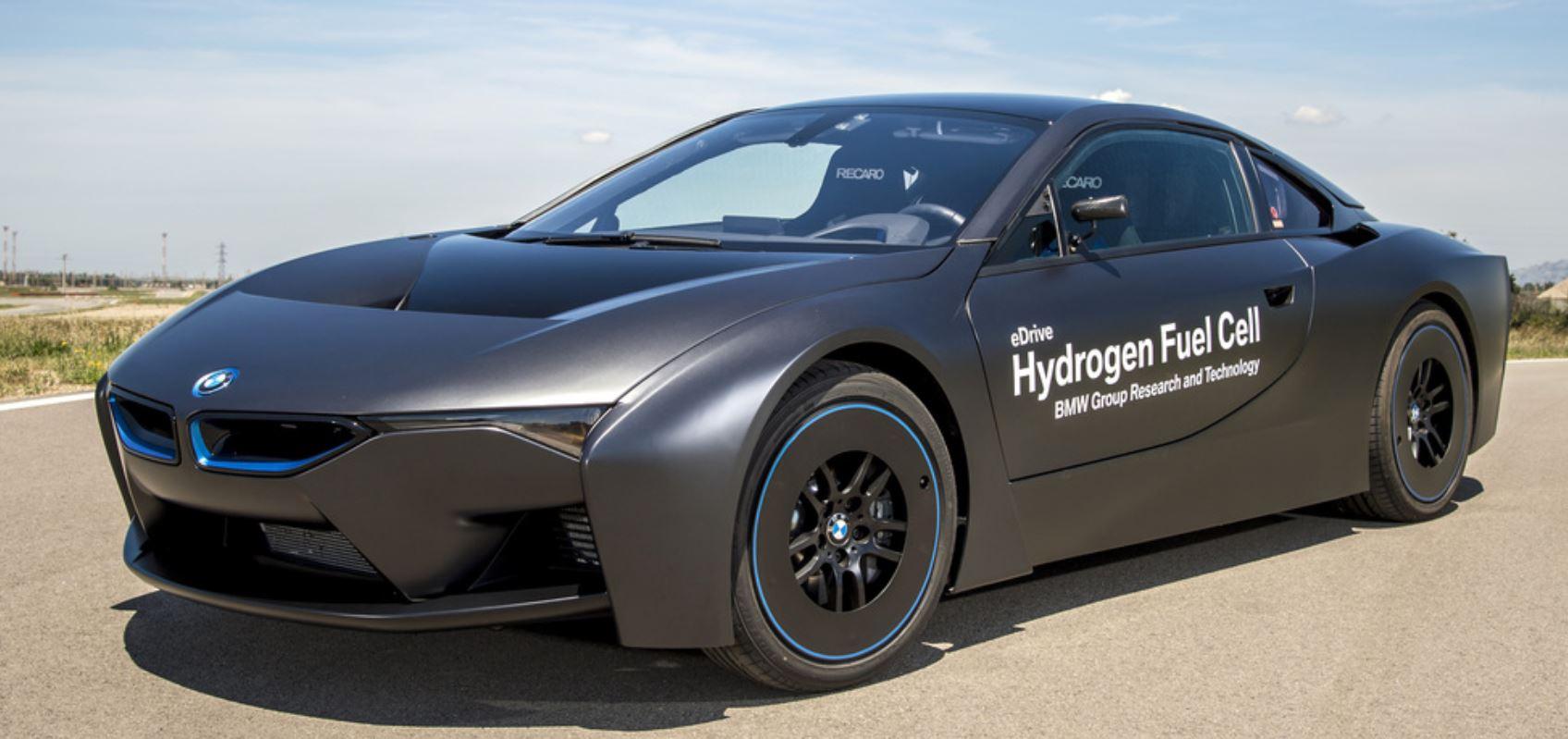 В БМВ занимаются разработкой автомобиля на водороде
