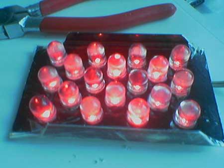 Диодные фонари своими руками ваз 2106