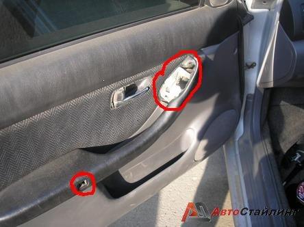 Подсветка дверных ручек в автомобиле своими руками