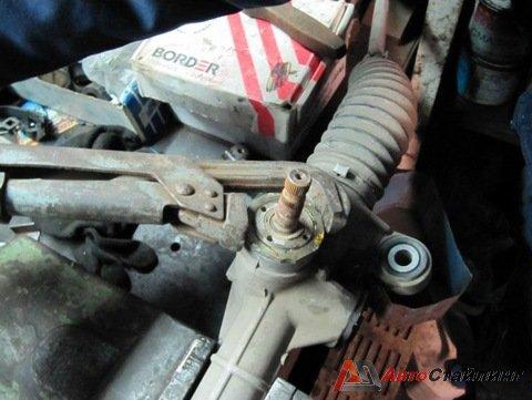 Тойота ремонт рулевой рейки своими руками